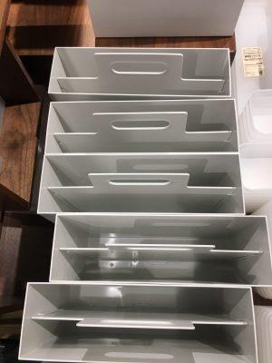 無印の手提げのように使える取っ手付き収納ボックスの上からの画像その2