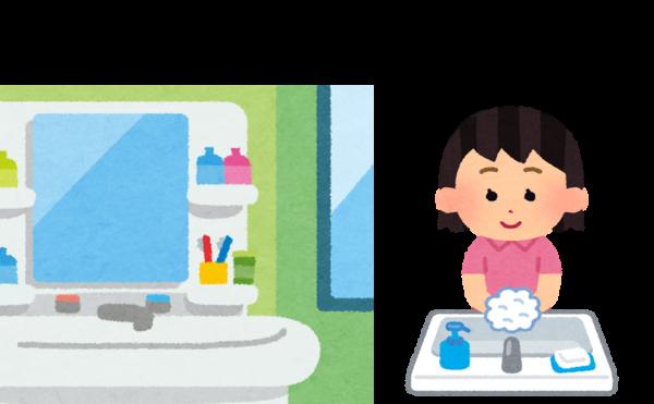 洗面台の整理収納の方法