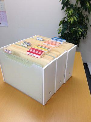 カインズのファイルボックス