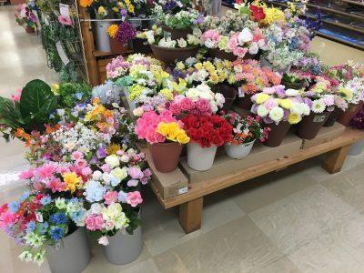 100均セリアの観葉植物。造花なのに本物と見間違えてしまうほどにきれい!