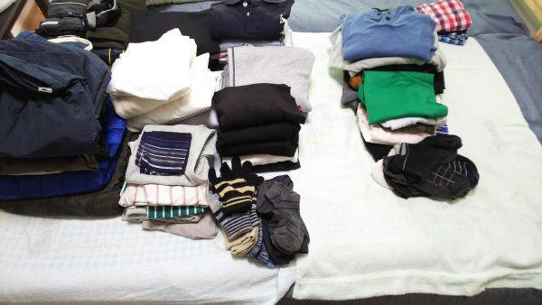 洋服の整理 着る洋服ときない洋服の分けましょう